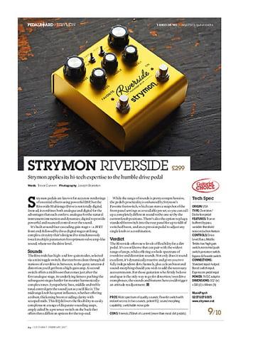 Strymon Riverside – Thomann Elláda
