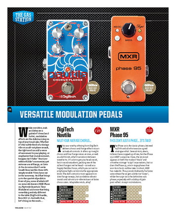 Total Guitar Boss MO-2 Multi Overtone
