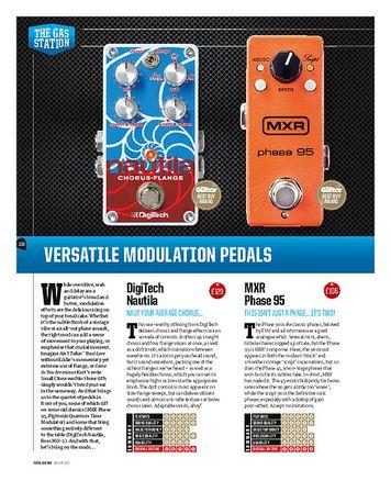 Total Guitar Pigtronix Quantum Time Modulator