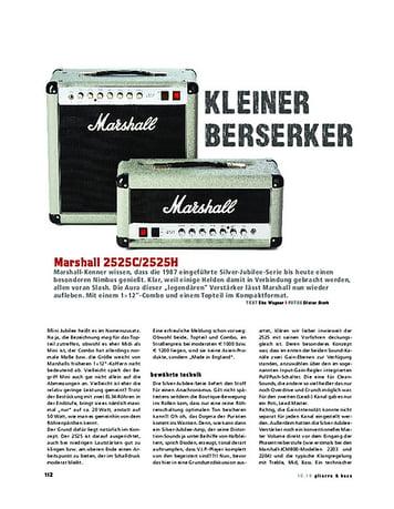 Gitarre & Bass Marshall 2525C/2525H