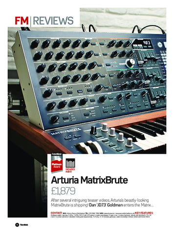 Future Music Arturia MatrixBrute