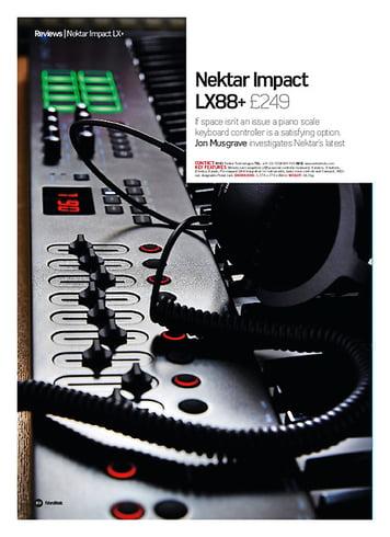 Future Music Nektar Impact LX88+
