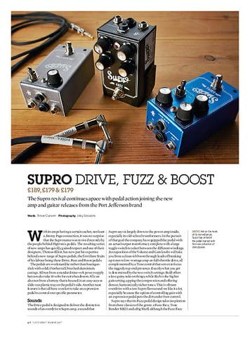 Guitarist Supro 1303 Boost