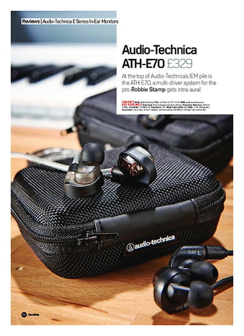Future Music Audio-Technica ATH-E70