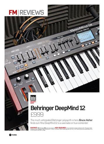 Future Music Behringer DeepMind 12