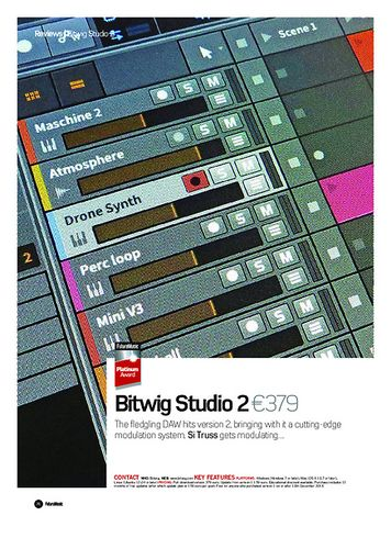 Future Music Bitwig Studio 2