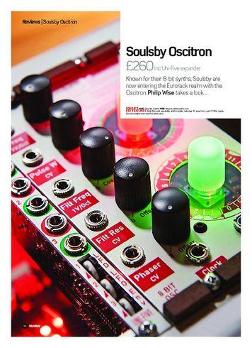 Future Music Soulsby Oscitron