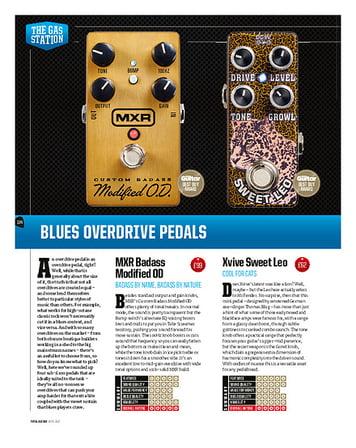 Total Guitar MXR Badass Modified OD