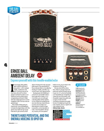 Total Guitar Ernie Ball Ambient Delay