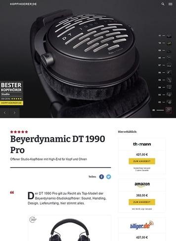 Kopfhoerer.de Beyerdynamic DT-1990 Pro 250 Ohms