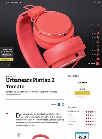 Kopfhoerer.de Urbanears Plattan 2