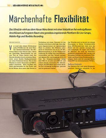 Professional Audio MotU Ultralite Mk4