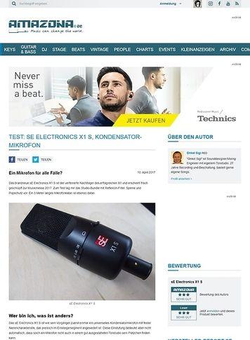Amazona.de sE Electronics X1 S