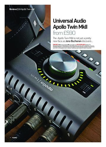 Universal Audio Apollo Twin MKII Solo – Thomann UK
