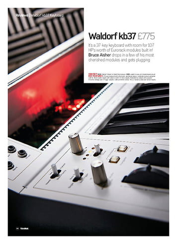 Future Music Waldorf kb37
