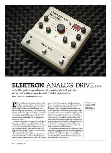 Guitarist Elektron Analog Drive