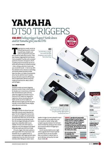 Rhythm Yamaha DT50 Triggers