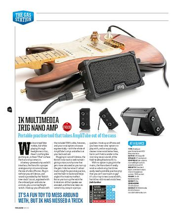 Total Guitar IK Multimedia iRig Nano Amp