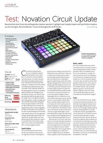 Beat Novation Circuit Update