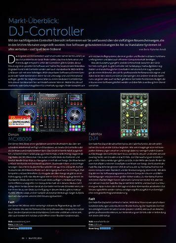 Beat Markt-Überblick: DJ-Controller