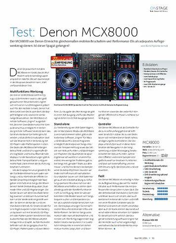 Beat Denon MCX8000