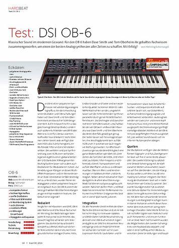 Beat DSI OB-6