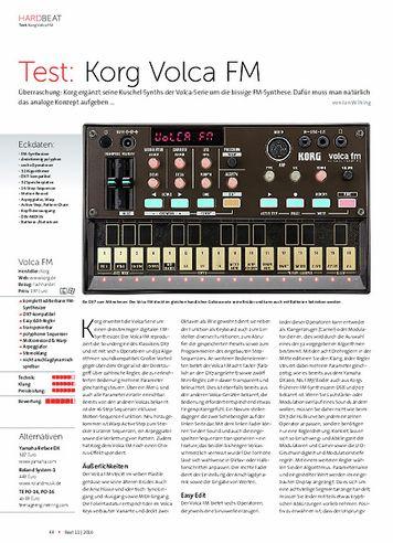 Beat Korg Volca FM