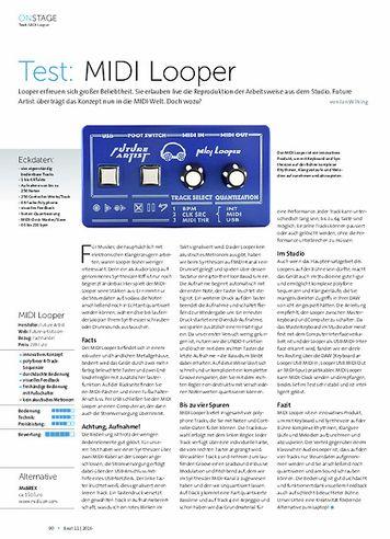Beat MIDI Looper