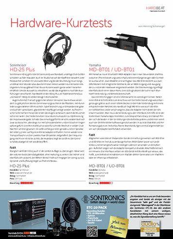 Beat Hardware-Kurztests