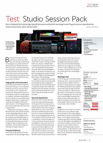 Beat Studio Session Pack