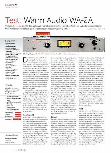 Beat Warm Audio WA-2A