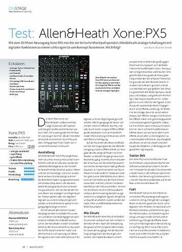 Beat Allen&Heath Xone:PX5