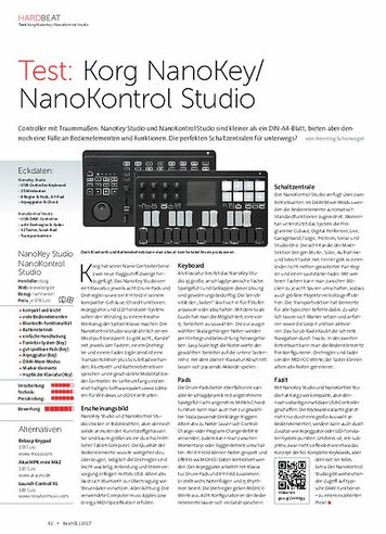 Beat Korg NanoKey/ NanoKontrol Studio