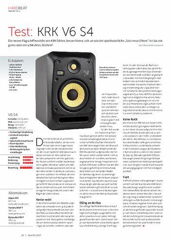 Beat KRK V6 S4