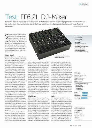 Beat Formula Sound FF6.2L