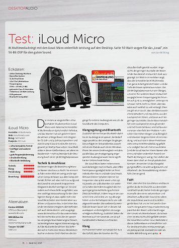 Beat iLoud Micro Monitor + Audient iD4