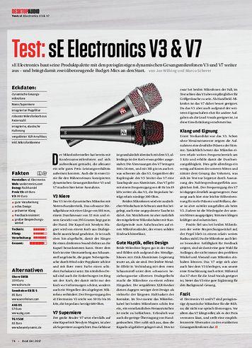 Beat sE Electronics V3 & V7, Behringer X-Touch mini, Mindflood Keyblock