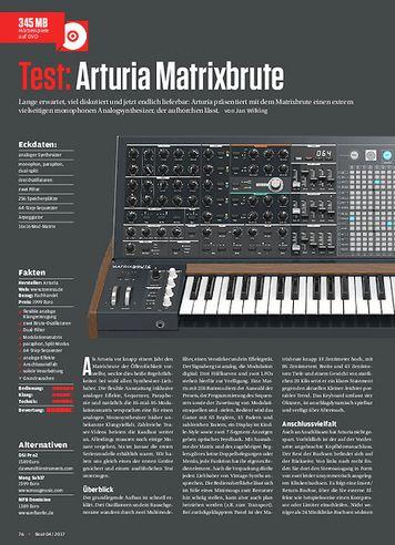 Beat Arturia Matrixbrute