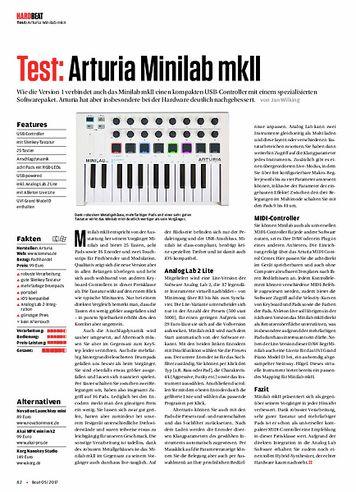 Beat Arturia Minilab mkII
