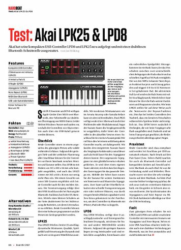 Beat Akai LPK25 & LPD8