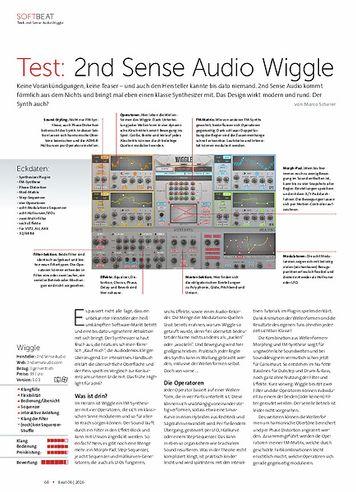 Beat 2nd Sense Audio Wiggle