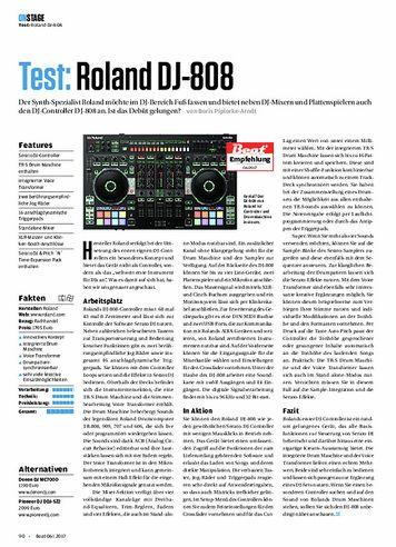 Beat Roland DJ-808