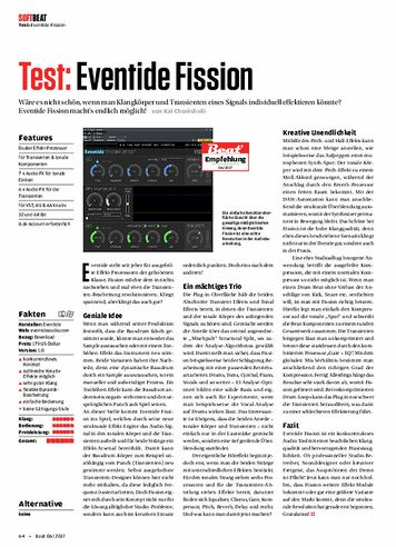 Beat Eventide Fission