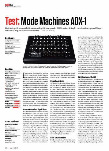 Beat Mode Machines ADX-1