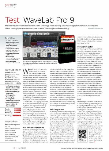 Beat WaveLab Pro 9