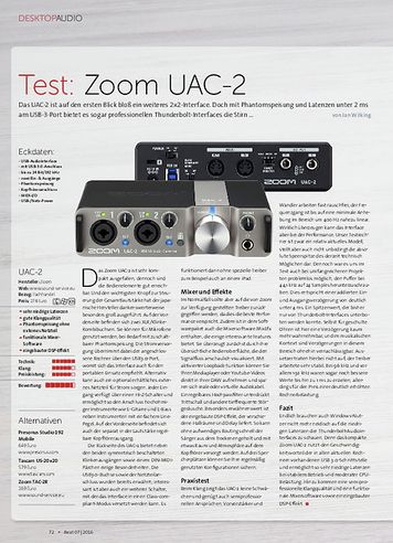 Beat Zoom UAC-2, Aston Halo, Røde VideoMic Me