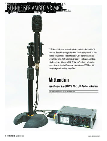 Sound & Recording Sennheiser AMBEO VR Mic - 3D-Audio-Mikrofon
