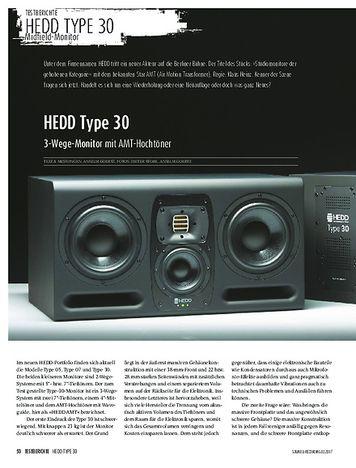 Sound & Recording HEDD Type 30