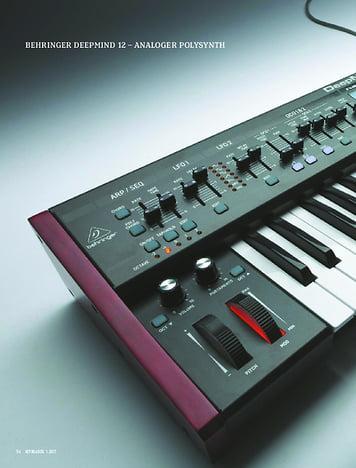 Keyboards BEHRINGER DEEPMIND 12