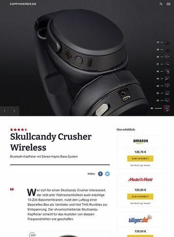 Kopfhoerer.de Skullcandy Crusher Wireless